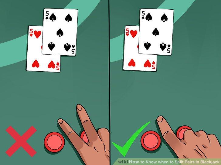 Blackjack Kazanma Taktiği Kartları İkiye Bölme - Spliting